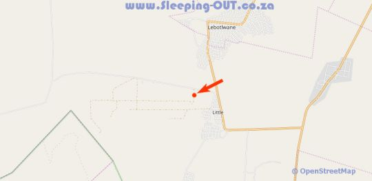 Map Rusties Lodge in Rustenburg  Bojanala  North West  South Africa