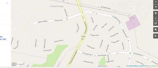 Map On Hill Lodge in Bloemfontein  Mangaung  Free State  South Africa