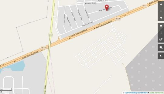 Map Carnival View Guest House in Boksburg  Ekurhuleni (East Rand)  Gauteng  South Africa