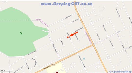 Map Anathi Hotel in Kokstad  East Griqualand  KwaZulu Natal  South Africa