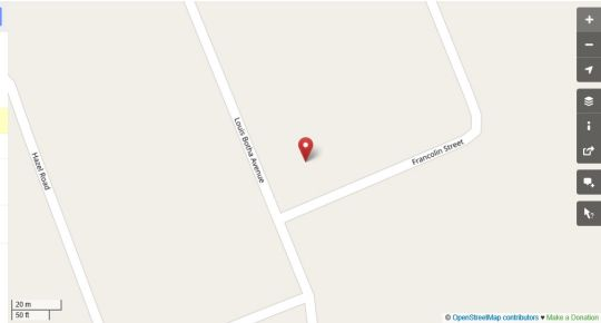 Map The One Guesthouse in Somerset West  Helderberg  Western Cape  South Africa