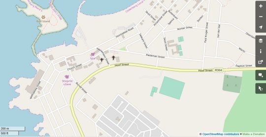 Map Waterfront @TheBay in Lambert's Bay  West Coast (WC)  Western Cape  South Africa