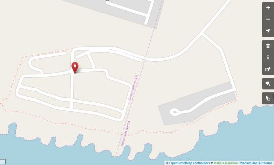 Map HBC9 in Hermanus  Overberg  Western Cape  South Africa