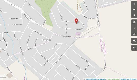 Map Hamilton Urban Farm and Guesthouse in Hayfields  Pietermaritzburg  Midlands  KwaZulu Natal  South Africa