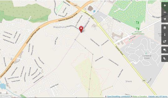 Map Hagios House in Shere  Pretoria East  Pretoria / Tshwane  Gauteng  South Africa