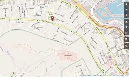 Map Portswood Mews 11 in Green Point  Atlantic Seaboard  Cape Town  Western Cape  South Africa