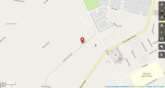 Map Triple-N Guesthouse in Carlswald  Midrand  Johannesburg  Gauteng  South Africa