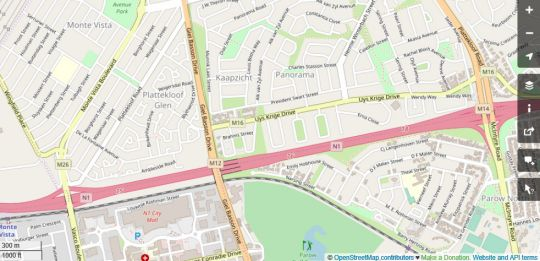 Map 35 on Mentz in Panorama (CPT)  Northern Suburbs (CPT)  Cape Town  Western Cape  South Africa