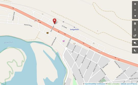 Map Village Mews 8 in Sedgefield  Garden Route  Western Cape  South Africa