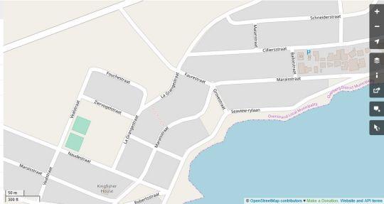 Map Allie\'s Place Franskraal in Franskraal  Overberg  Western Cape  South Africa