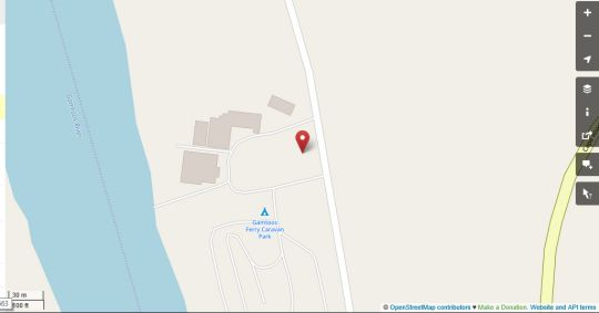 Map The Gamtoos Ferry Hotel in Jeffreys Bay  Cacadu (Sarah Baartman)  Eastern Cape  South Africa