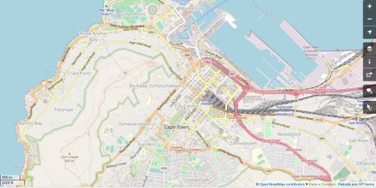 Map Soho On Strand A6 in De Waterkant  City Bowl  Cape Town  Western Cape  South Africa