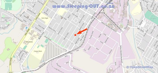 Map Welgedaan Self Catering Accommodation in George  Garden Route  Western Cape  South Africa