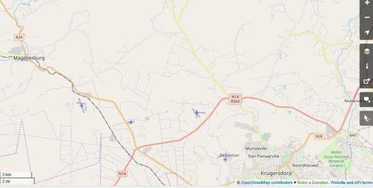 Map  Urban Safaris in Krugersdorp Central  Krugersdorp  West Rand  Gauteng  South Africa