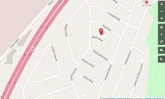 Map Caslin in Pierre van Ryneveld  Centurion  Pretoria / Tshwane  Gauteng  South Africa