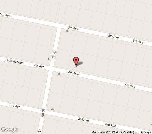 Map The Space Guest House in Melville (JHB)  Northcliff/Rosebank  Johannesburg  Gauteng  South Africa
