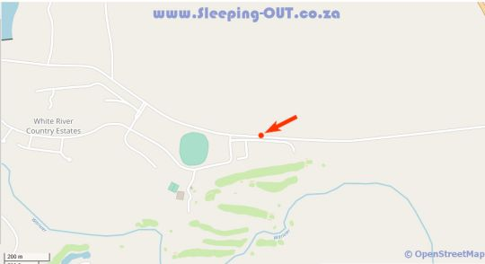 Map Thyme Inn on Greenway in White River  The Panorama  Mpumalanga  South Africa