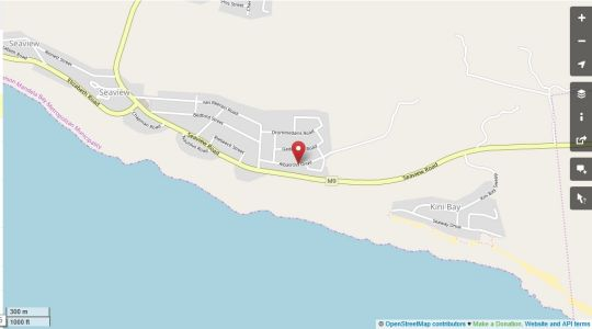 Map aHa Guest House in Seaview  Port Elizabeth  Cacadu (Sarah Baartman)  Eastern Cape  South Africa