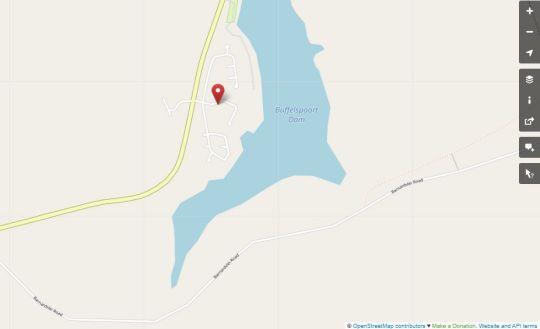 Map Die Boshuisie @ Utopia Nature Estate in Buffelspoort  Bojanala  North West  South Africa