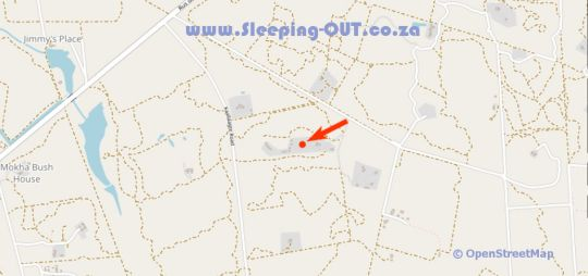 Map Golden Impalas Bush Resort in Hammanskraal  Metsweding District  Gauteng  South Africa