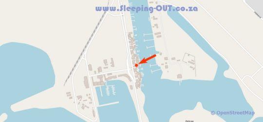 Map Wild Rocks Mzingazi Waterfront in Richards Bay  Zululand  KwaZulu Natal  South Africa