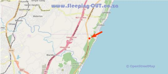 Map 41 Licorna Beach in Umhlanga Rocks  Umhlanga  Northern Suburbs (DBN)  Durban and Surrounds  KwaZulu Natal  South Africa