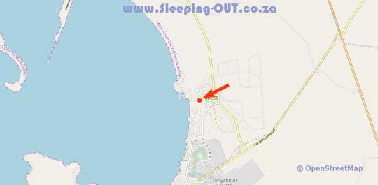 Map KALIVA 582 MYKONOS LANGEBAAN in Langebaan  West Coast (WC)  Western Cape  South Africa