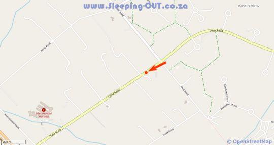 Map Acacia Rock in Glen Austin AH  Midrand  Johannesburg  Gauteng  South Africa