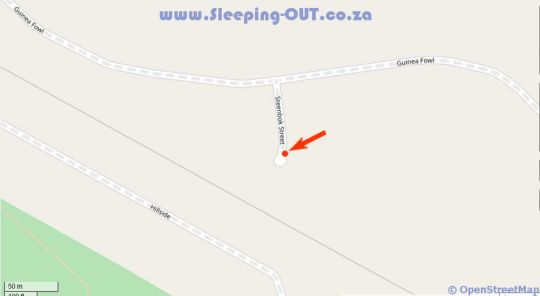 Map The Reserve Residence in Silver Lakes  Pretoria East  Pretoria / Tshwane  Gauteng  South Africa