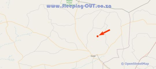 Map Kifaru Luxury Lodge & Bush Camp in Outjo  Kunene  Namibia