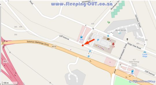 Map The Rasmus in Erasmuskloof  Pretoria East  Pretoria / Tshwane  Gauteng  South Africa