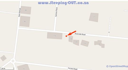 Map Guest House at 118 in Atholl  Sandton  Johannesburg  Gauteng  South Africa