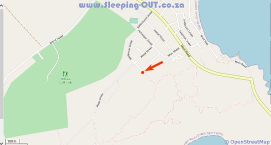 Map Mama Mia at Charlotte House in Stilbaai  Garden Route  Western Cape  South Africa