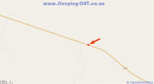 Map Morakane Safari Lodge in Vryburg  Bophirima  North West  South Africa