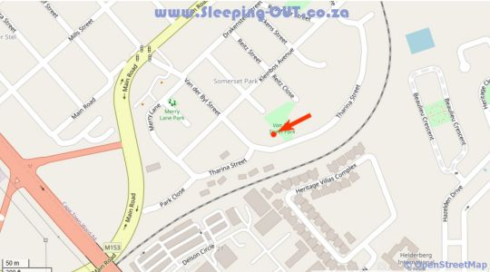 Map 12 On Tharina in Somerset West  Helderberg  Western Cape  South Africa