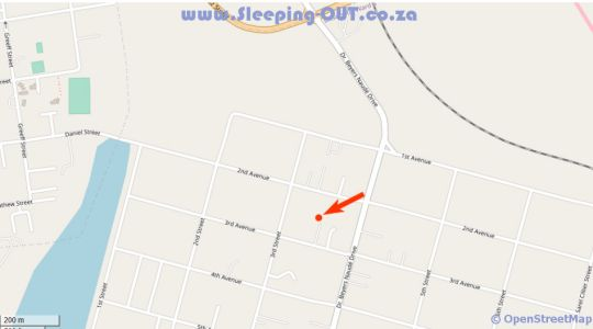 Map Lullaby Leaves Guesthouse Pty Ltd in Lichtenburg  Central (NW)  North West  South Africa