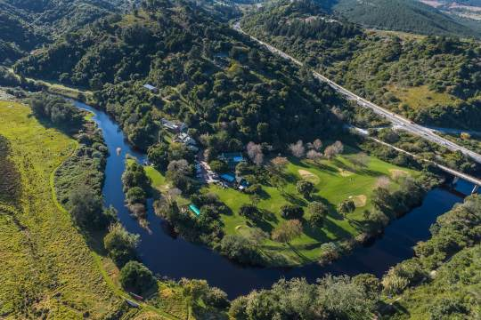 Map Blackwaters River Lodge in Knysna  Garden Route  Western Cape  South Africa