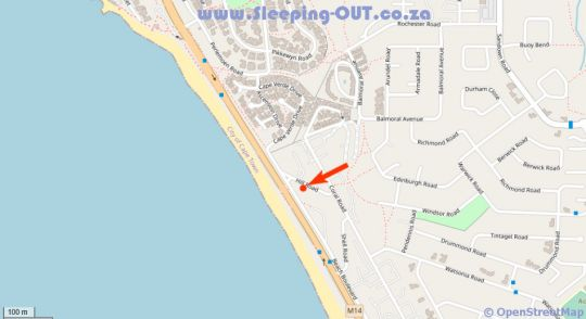 Map Infinity 502 in Bloubergstrand  Blaauwberg  Cape Town  Western Cape  South Africa
