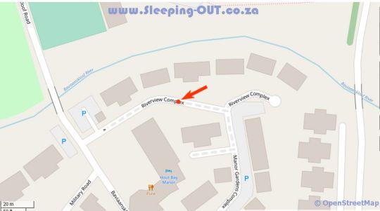 Map dk villas 4 RivervieW Hout Bay in Hout Bay  Atlantic Seaboard  Cape Town  Western Cape  South Africa