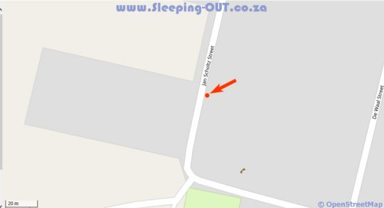 Map Kamieskroon Cosy Cottage in Kamieskroon  Namakwaland  Northern Cape  South Africa