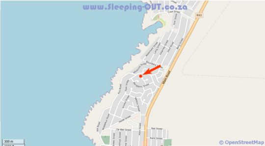 Map Whale of a Time in Gansbaai  Overberg  Western Cape  Zuid-Afrika