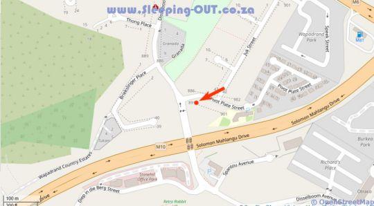 Map Spicata at Wapadrand in Wapadrand  Pretoria East  Pretoria / Tshwane  Gauteng  South Africa