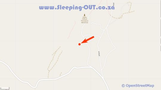 Map Cheerio  in Magoebaskloof  Valley of the Olifants  Limpopo  South Africa