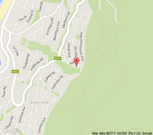 Map Diamond Guest House in Camps Bay  Atlantic Seaboard  Cape Town  Western Cape  South Africa
