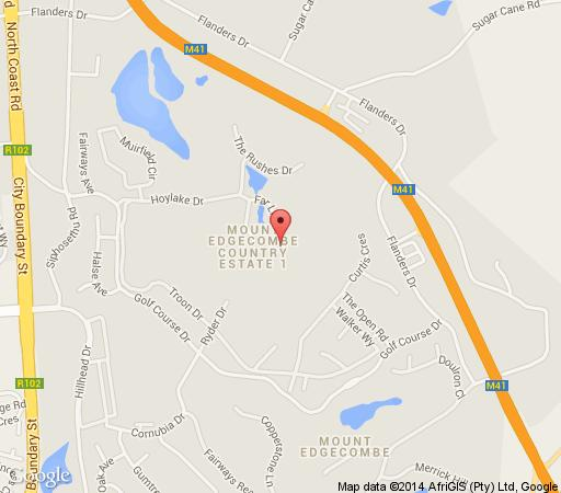 Mount Edgecombe South Africa  city photos : Map Mount Edgecombe Golf Lodge in Umhlanga Ridge Umhlanga Northern ...