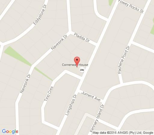 Map Cornerway House in Plettenberg Bay  Garden Route  Western Cape  South Africa
