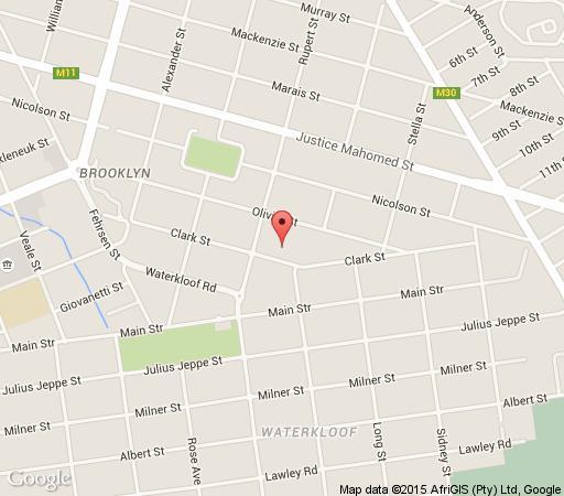 Map 314 on Clark  in Brooklyn (PTA)  Pretoria Central  Pretoria / Tshwane  Gauteng  South Africa