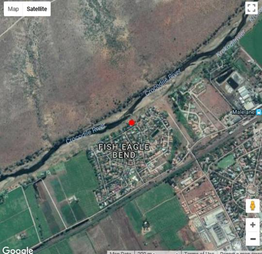 Map River House Lodge in Malelane  Kruger National Park (MP)  Mpumalanga  South Africa