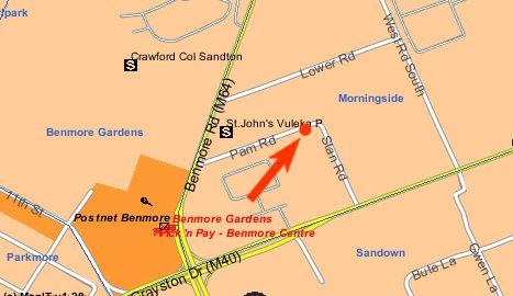 Map Firenza in Morningside (JHB)  Sandton  Johannesburg  Gauteng  South Africa
