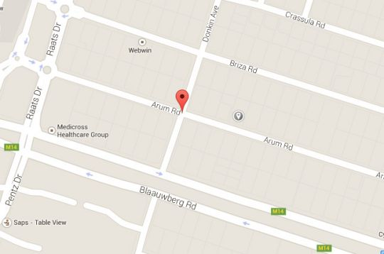 Map Fusion Accommodation-What Not in Table View  Blaauwberg  Cape Town  Western Cape  South Africa